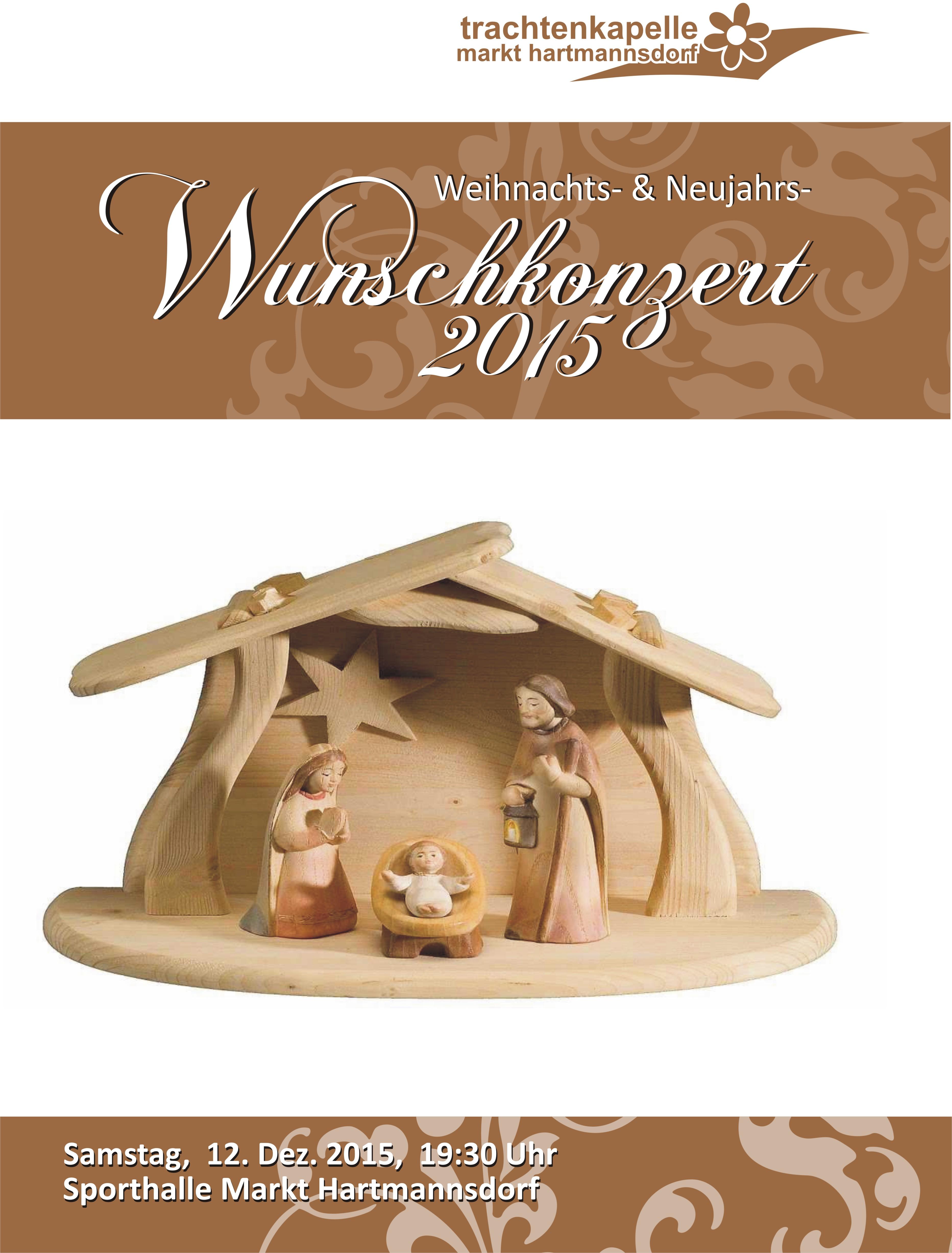 Weihnachts- & Neujahrswunschkonzert