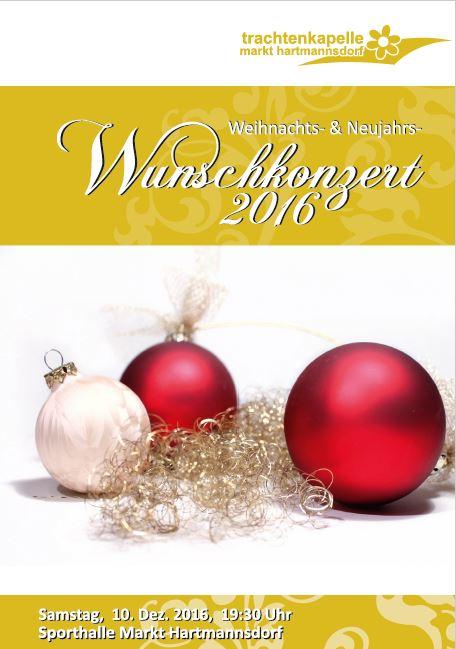 Stimmungsvolles Weihnachts- und Neujahrs-Wunschkonzert