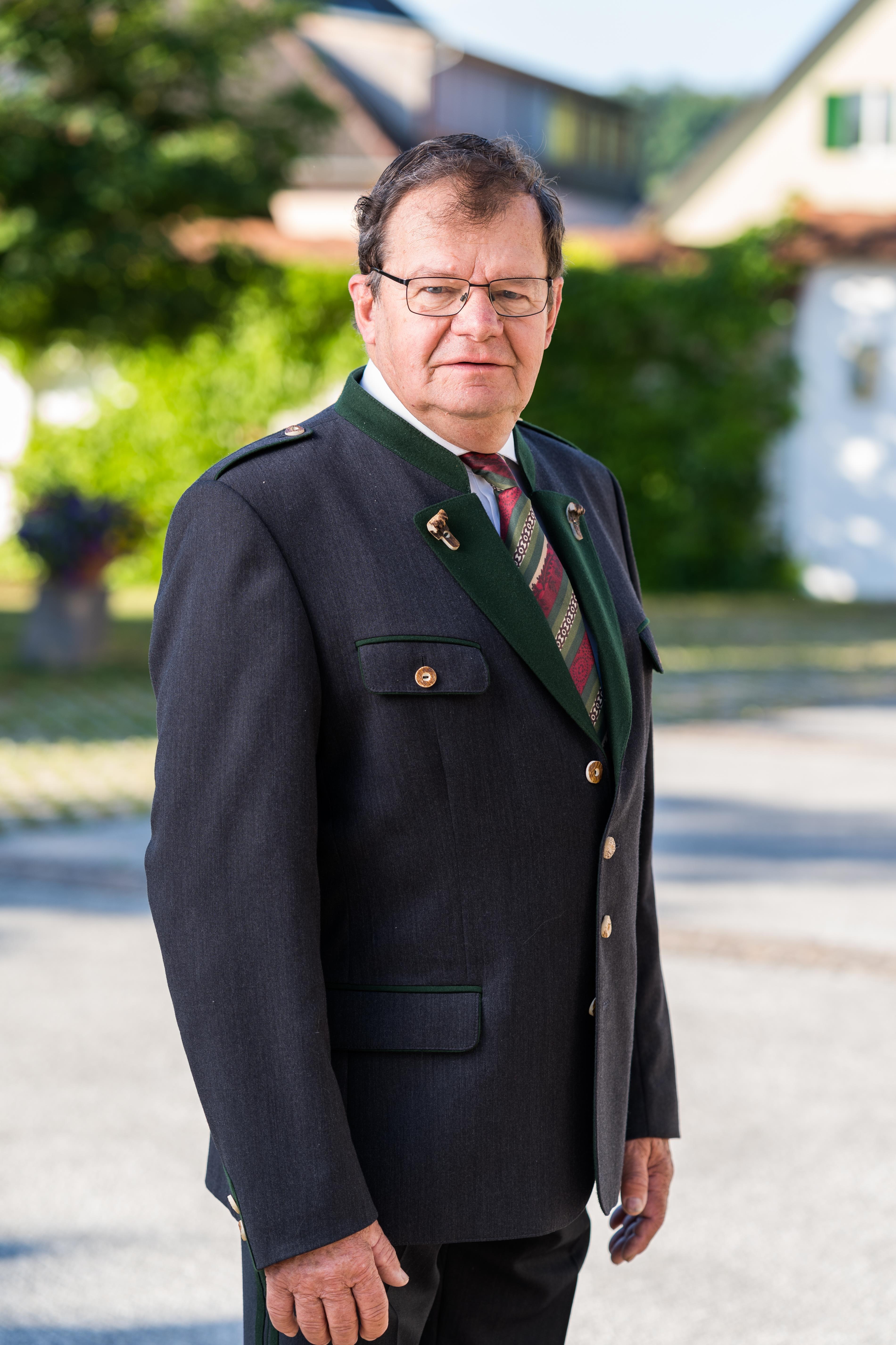 Ehrenobmann Gottfried Krispel :