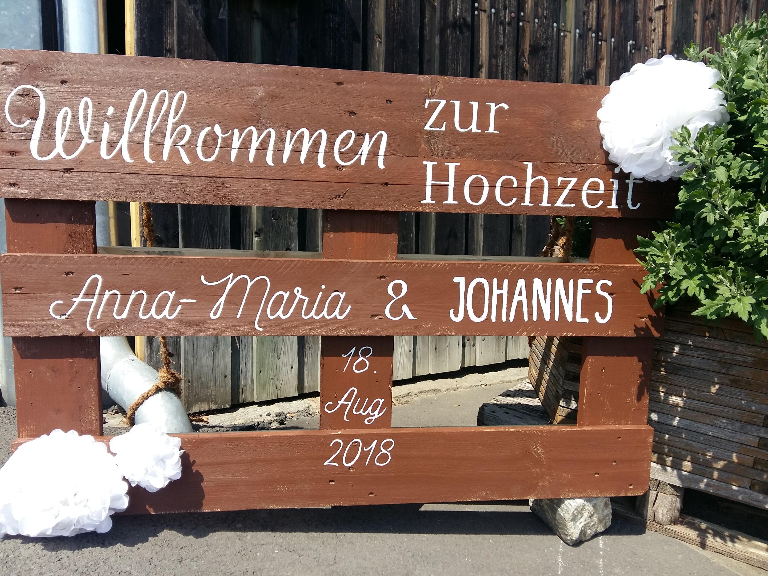 Hochzeit von Anna & Johannes