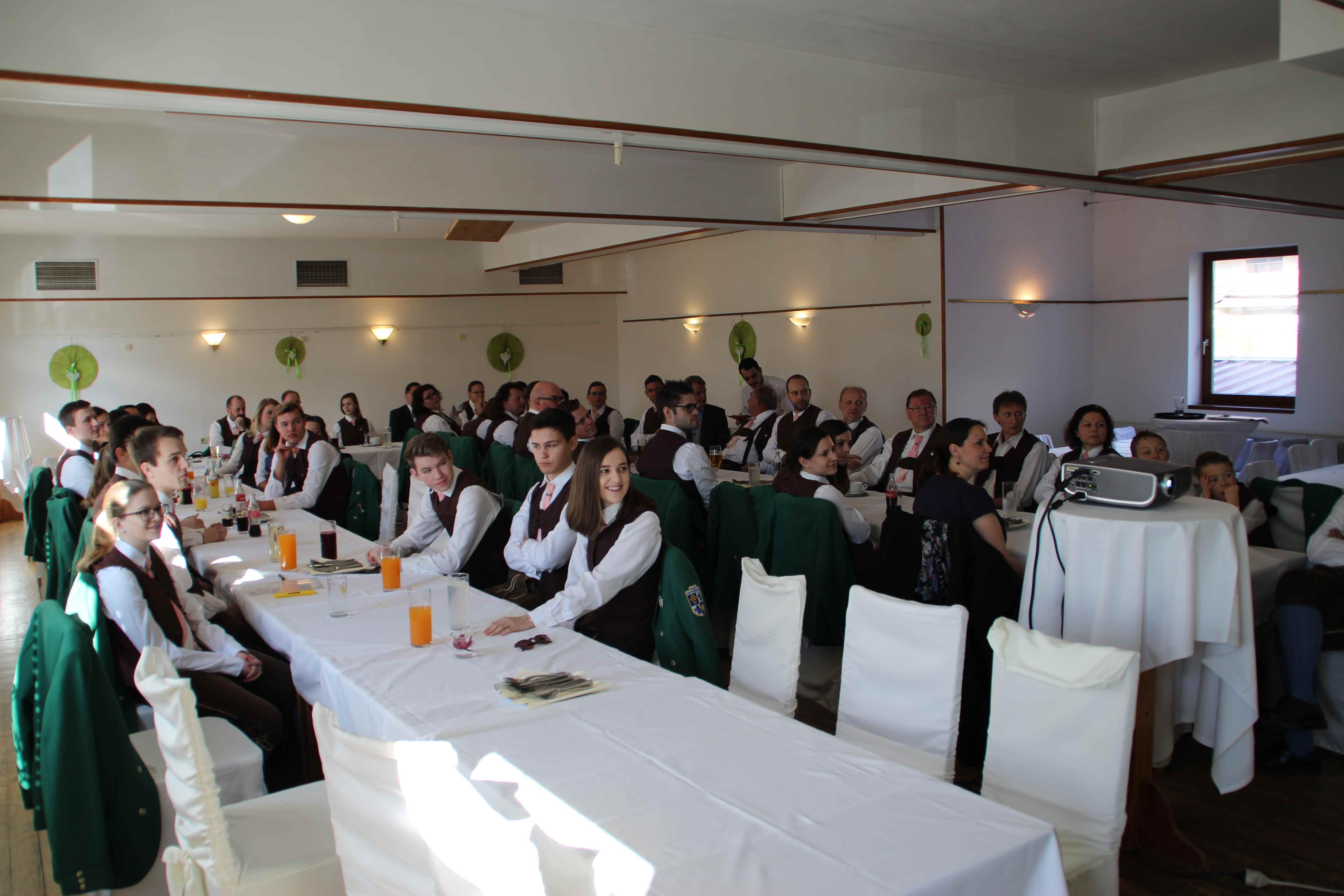 Jahreshauptversammlung der Trachtenkapelle