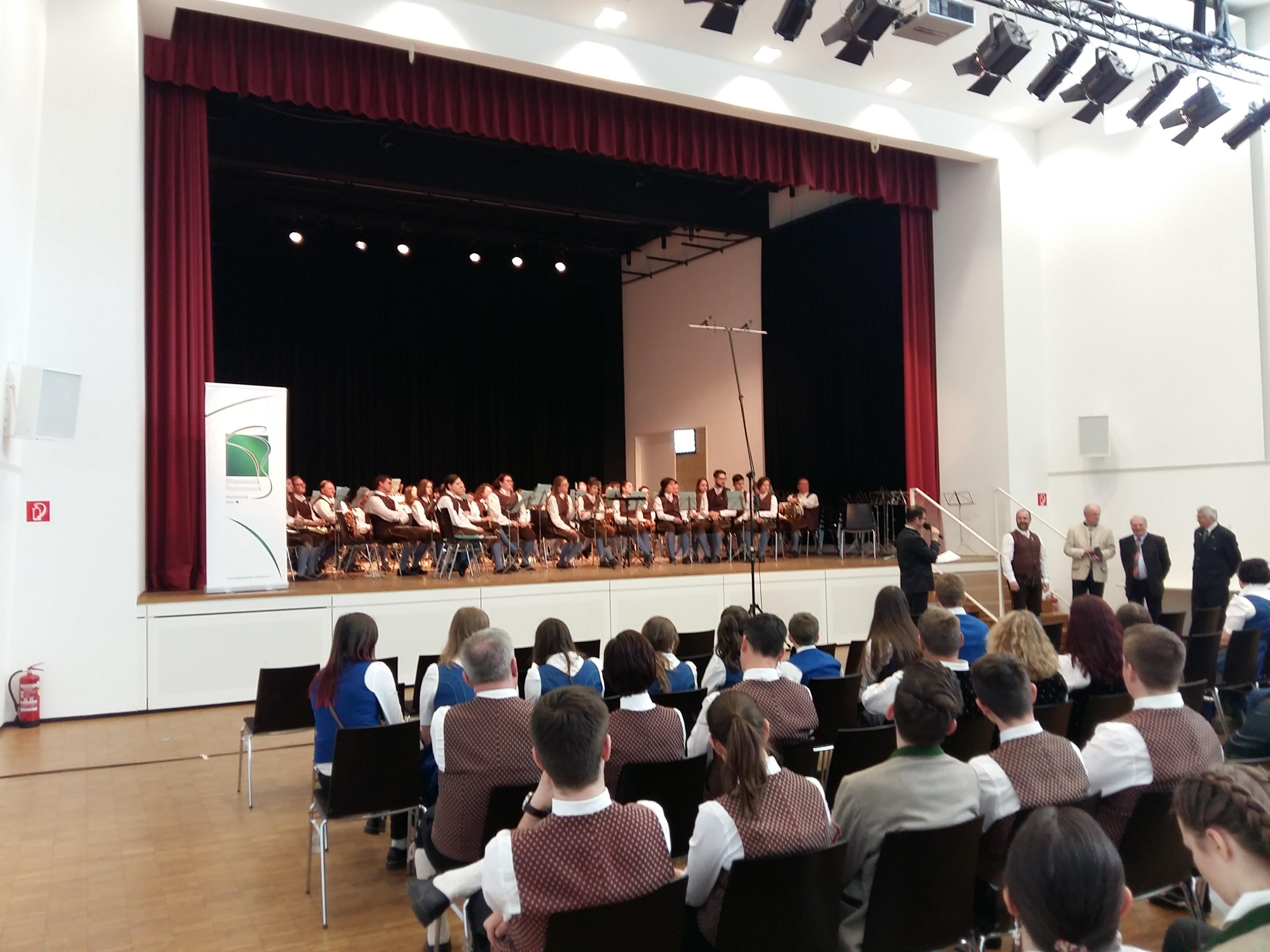 Polka-Walzer-Marsch Wertung der Trachtenkapelle