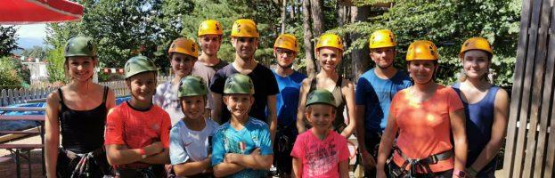 Ausflug zum Kletterpark Geier