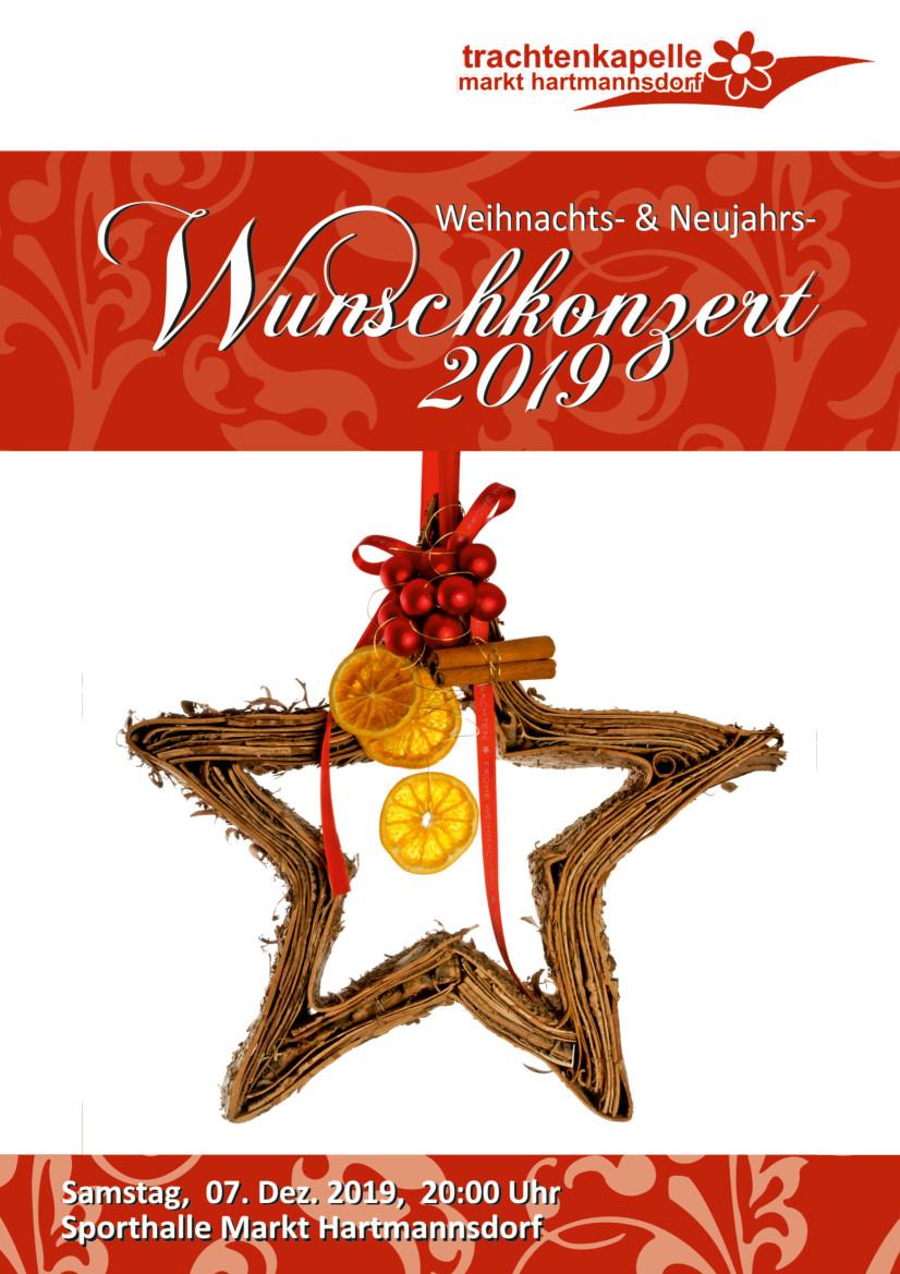 Weihnachts- & Neujahrs-Wunschkonzert 2019