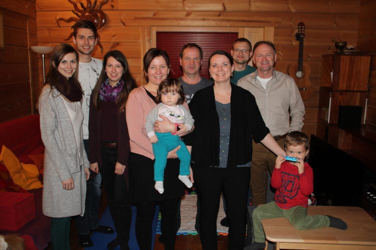 Babygratulation Kathi & Robert