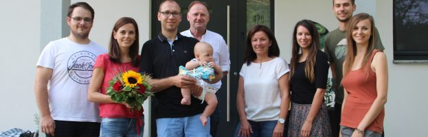 Babygratulation Matthias & Conny