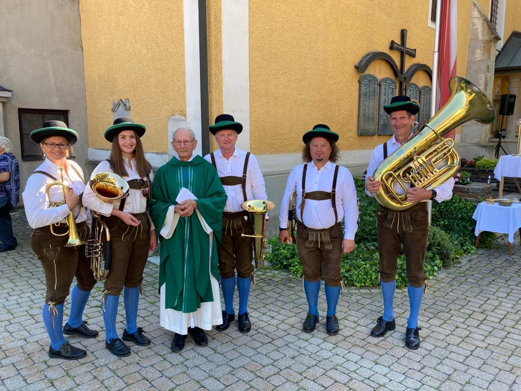 60-jähriges Priesterjubiläum von Pfarrer Ferdinand Kochauf