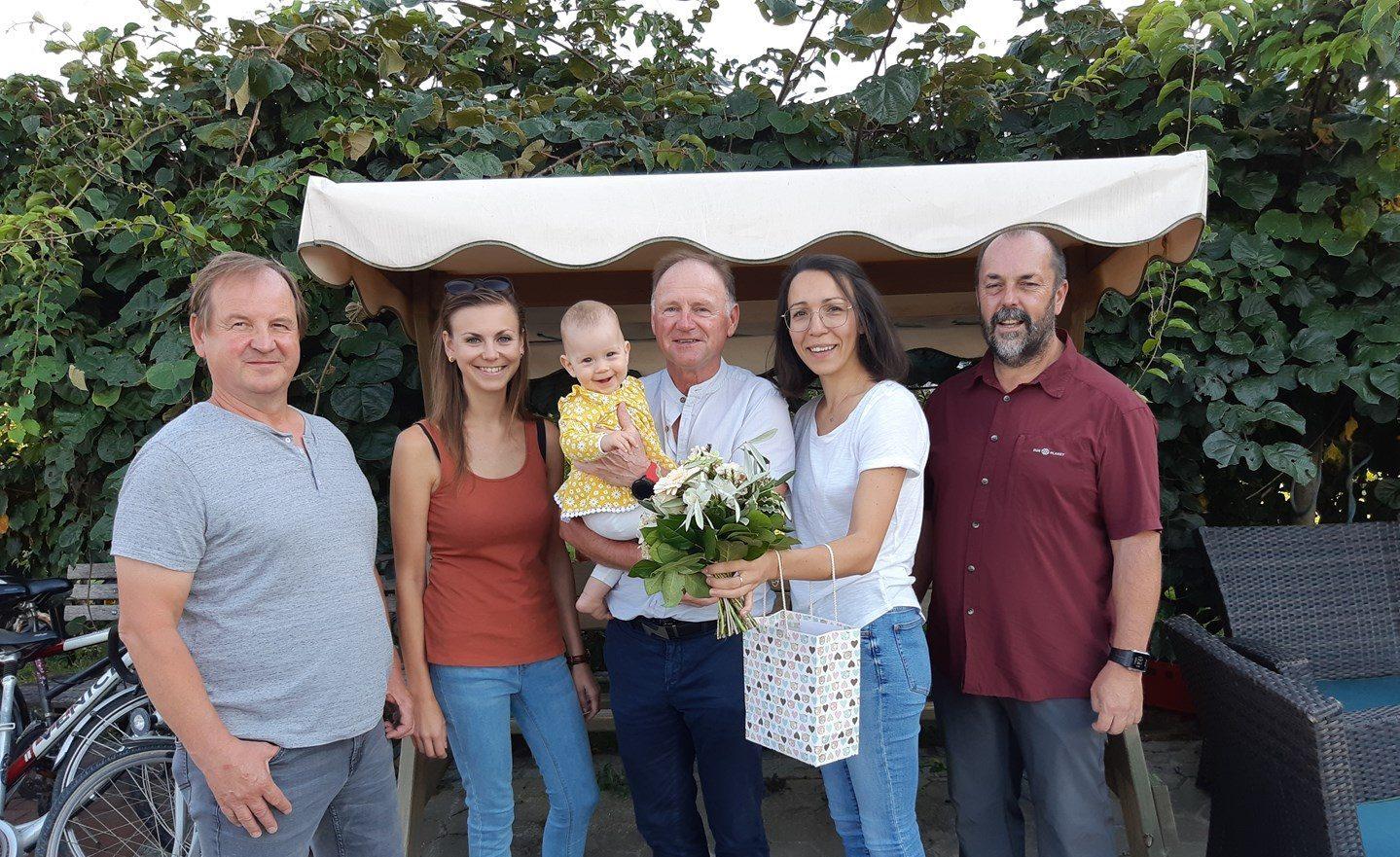 Babygratulation Anna & Johannes